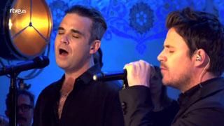 """Especial Dani Martín - Dani Martín canta """"Feel"""" con Robbie Williams"""