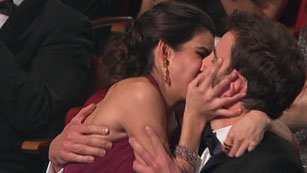 Dani Rovira recibe el Goya 2015 como mejor actor revelación por 'Ocho apellidos vascos'