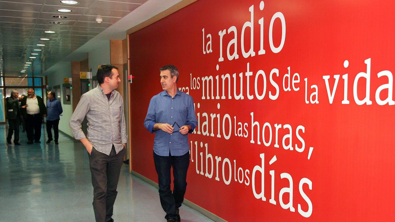 Daniel Galindo, director de La Sala, junto a Arturo Martín