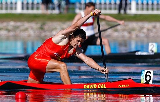 David Cal, segundo en C-1 1.000 metros
