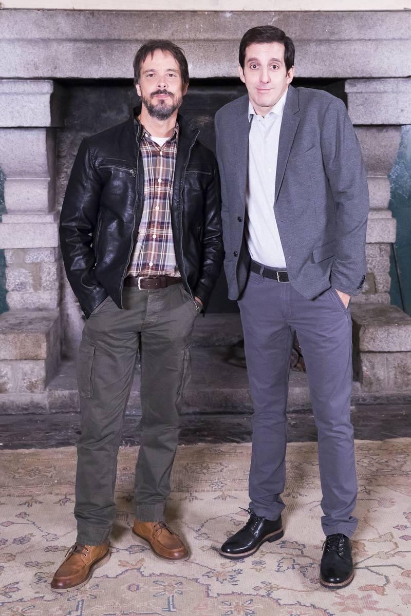 David Janer y Guillermo Ortega, en 'Los habtiantes de la casa deshabitada'