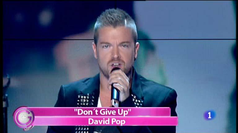 Más Gente - David Pop canta 'Don't give up'