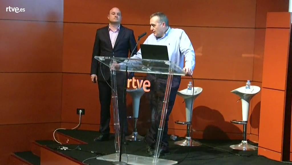 David Valcarce y Víctor Sánchez