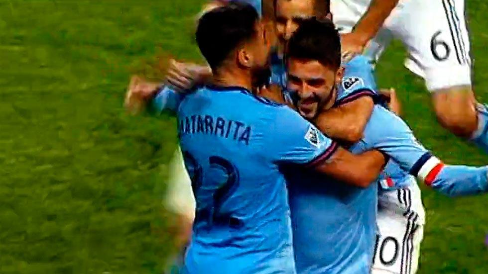 David Villa marca el golazo de la temporada en la liga estadounidense