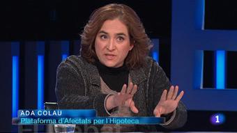 El Debat de La 1 - Ada Colau i José García Montalvo