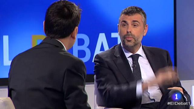El Debat de La 1 - Santi Vila - 20/04/17