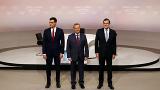 Debate Cara a Cara  Rajoy-Sánchez