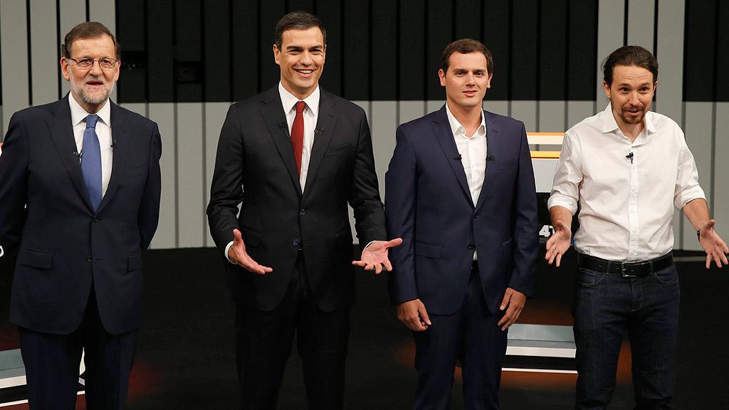 El debate a cuatro no despeja la incógnita sobre los posibles pactos tras el 26J