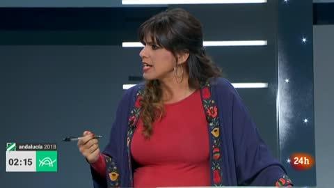 """Debate Elecciones Andalucía 2018   Rodríguez, a Marín: """"Para negociar un salario mínimo no me voy a la cárcel, me voy a Marte"""""""