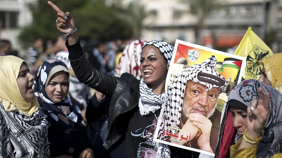 Los palestinos recuerdan a Yasir Arafat diez años después de su muerte