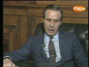 Ver vídeo  'Declaración leída la noche del 23-F de 1981 por Francisco Laína, director de la Seguridad del Estado'