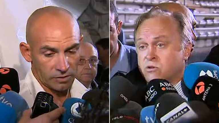 Declaraciones de Paco Jémez y Miguel Pardeza