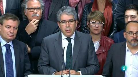 Declaracions Francesc Homs al Vespre a La 2