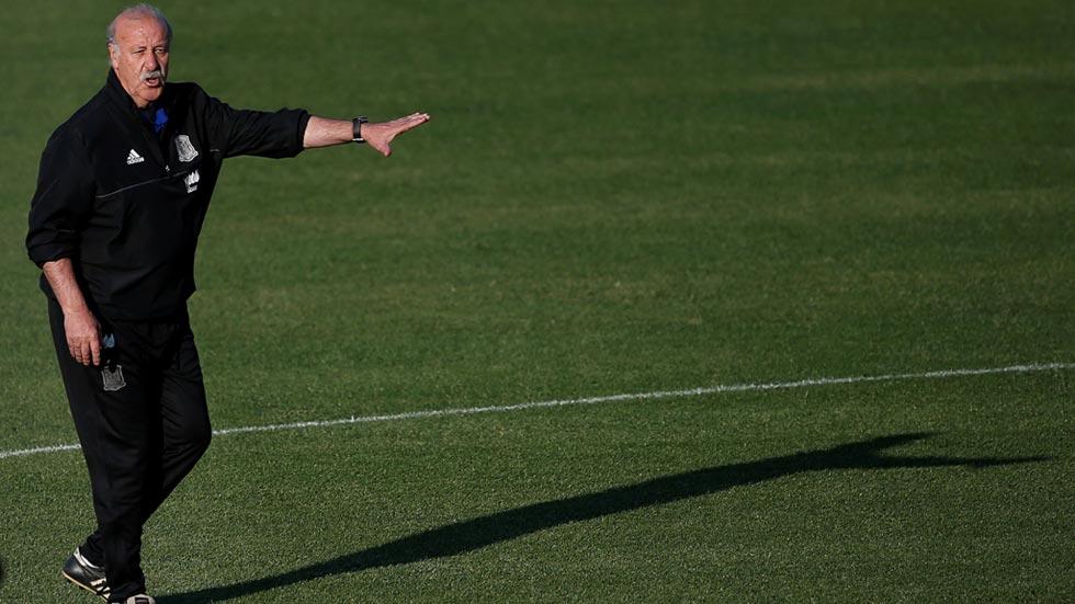 Del Bosque no da pistas de quién será el portero titular de la Euro