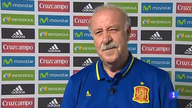 """Del Bosque: """"Somos moderadamente optimistas"""""""