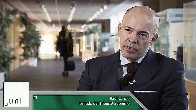 UNED - Derecho en primera persona. Raúl Cancio - 14/12/18