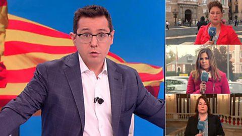 Los desayunos de TVE - Desafío independentista, 1ª parte - 19/10/17