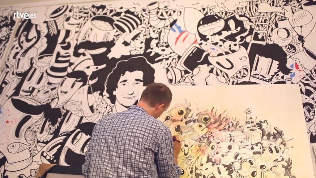 Desatados - 01 Oscar Llorens, ilustrador - 08/09/17