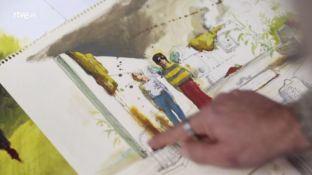 Desatados - 18 José Luis Serzo, Artista multidisciplinar