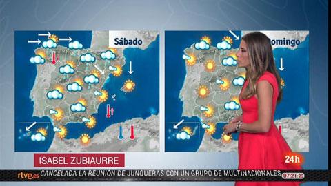 Descenso notable de las temperaturas en Galicia, Cantábrico y alto Ebro