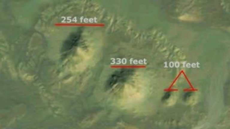 Un grupo de científicos estadounidenses cree haber descubierto dos pirámides a través de Google Earth