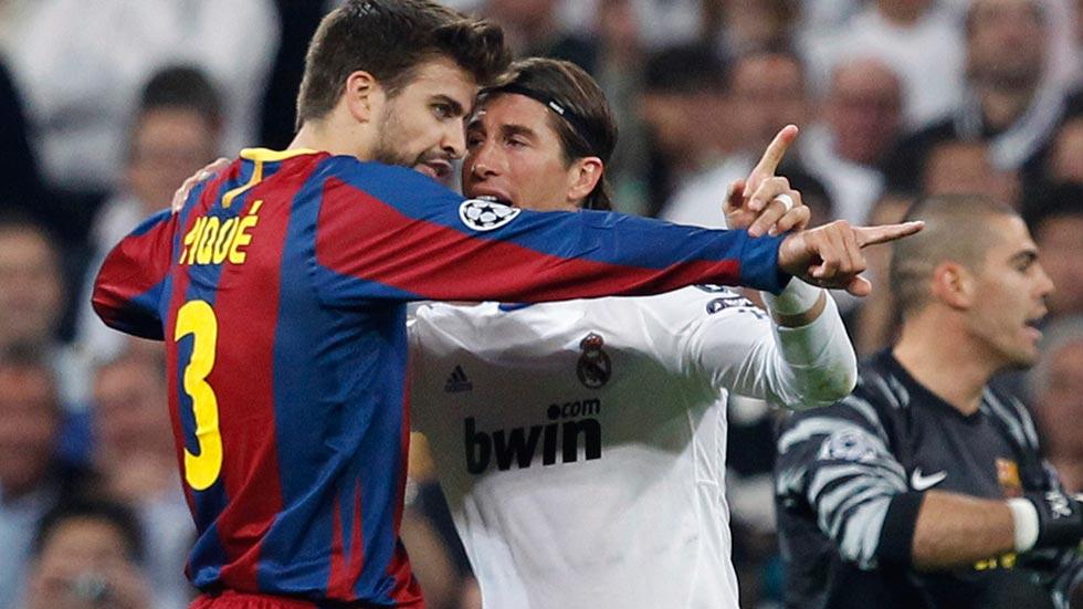Los desencuentros entre el Real Madrid y Piqué