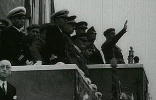 El desfile de la victoria del 1 de abril de 1939