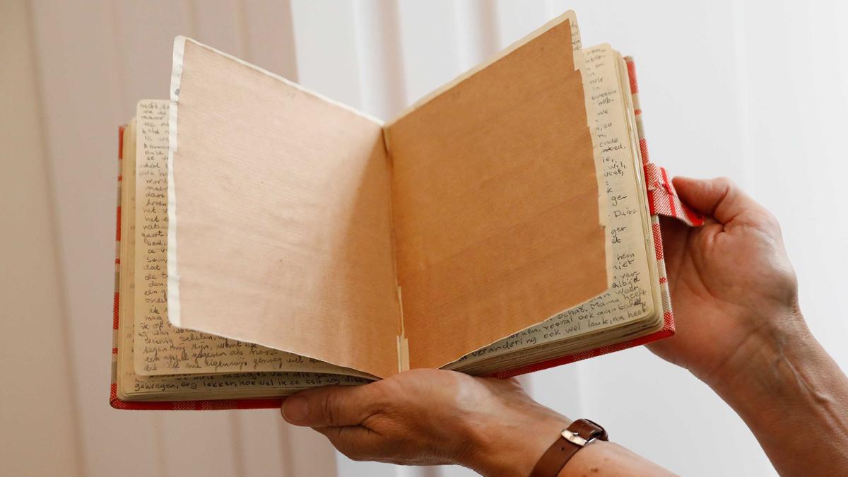 Desvelado el contenido de dos páginas inéditas del diario de Anna Frank