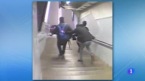 Un detenido como presunto agresor de un joven en la estación de Navas del metro de Barcelona