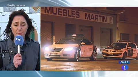Detenido el presunto autor de la muerte de dos guardias civiles y un civil en Teruel