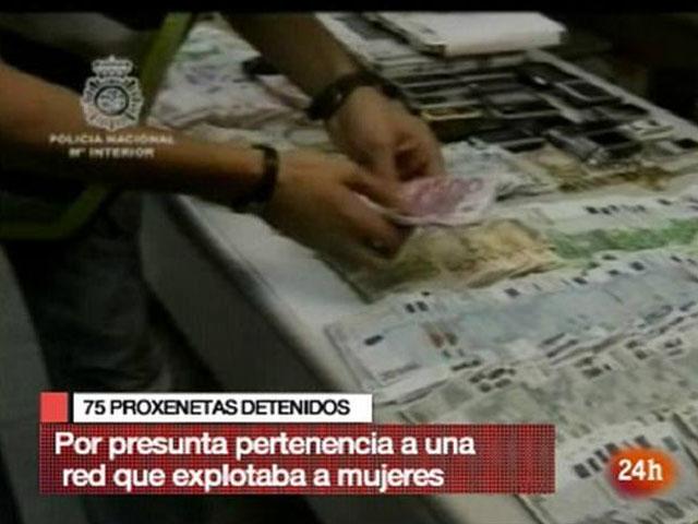 Detenidos 75 personas relacionadas con una red de trata de mujeres