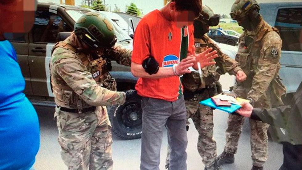 Detienen en Ucrania a un ciudadano francés que pretendía atentar durante la Eurocopa, según Kiev