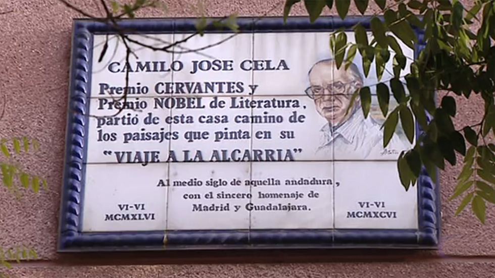 Un día como hoy de hace 70 años Camilo José Cela salió de Madrid con destino a La Alcarria
