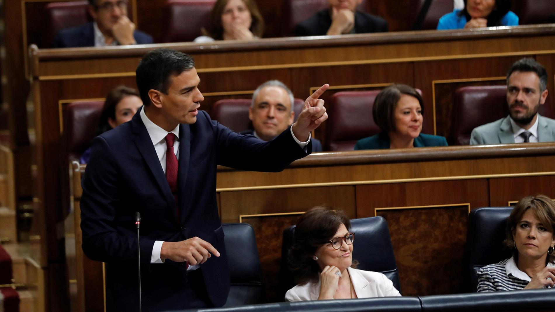 """Diputados de Ciudadanos acusan a Sánchez de amenazarles con un """"os vais a enterar"""""""
