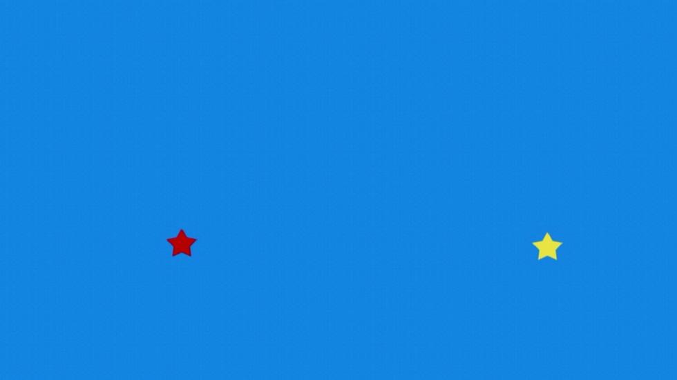 Desafía tu mente - ¿En qué dirección giran los puntos que rodean a la estrella amarilla?