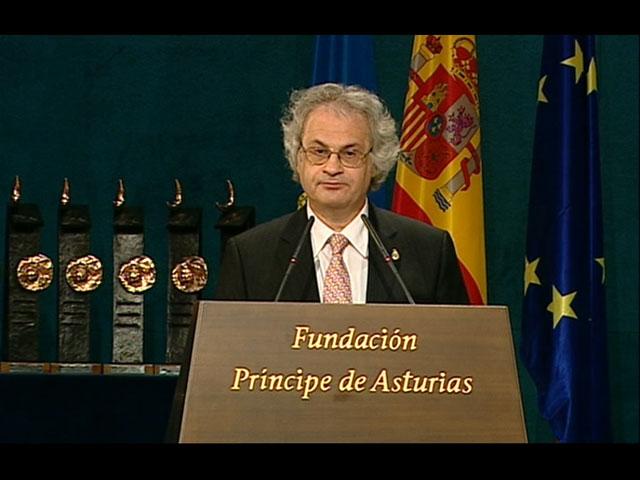 Discurso íntegro de Amin Maalouf, Príncipe de Asturias de las Letras 2010