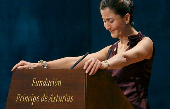 Emotivo discurso de Ingrid Betancourt