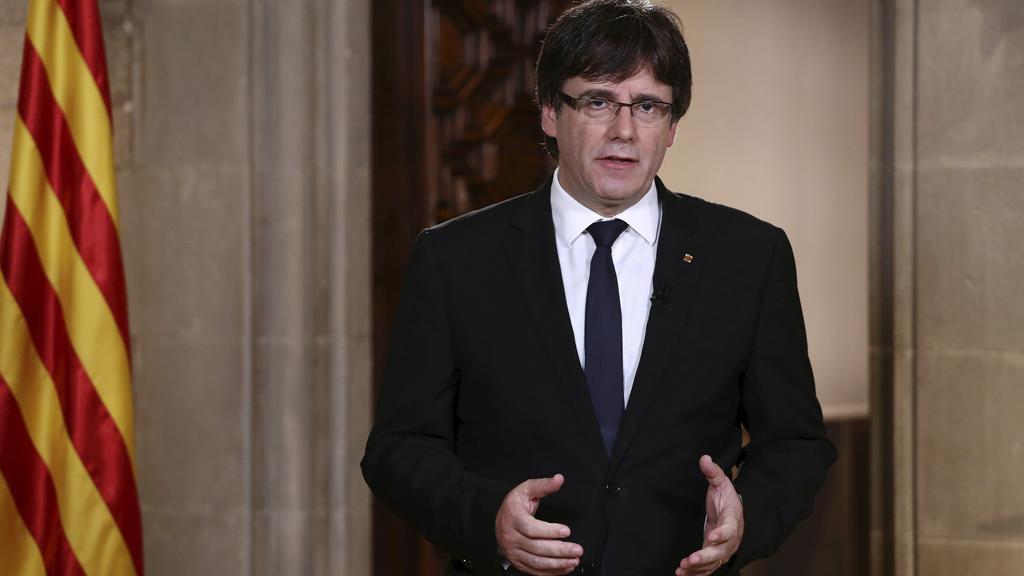 Discurso institucional íntegro de Carles Puigdemont