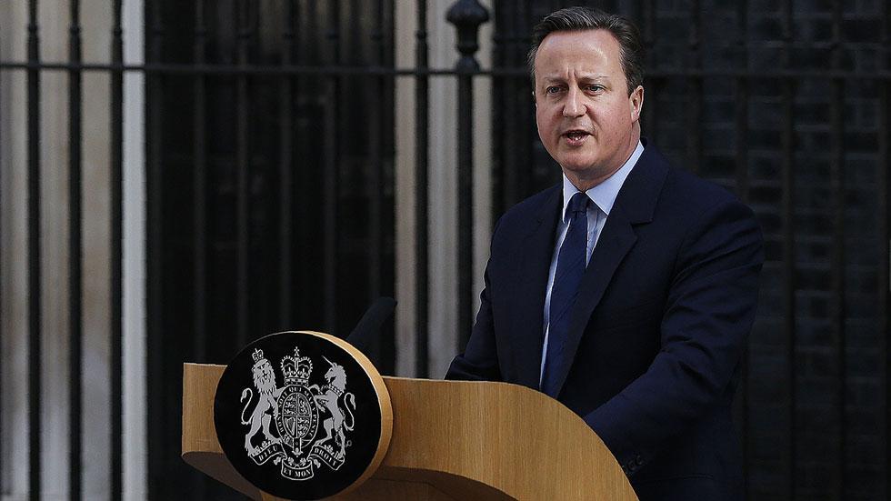 Discurso íntegro de Cameron tras perder el referéndum del 'Brexit'