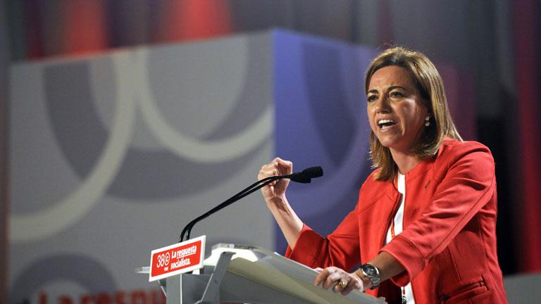 Discurso íntegro de Carme Chacón en el 38 Congreso del PSOE