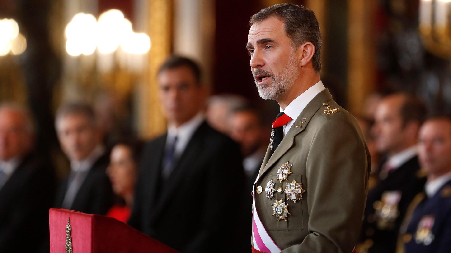 Discurso íntegro del rey Felipe VI en la Pascua Militar 2019