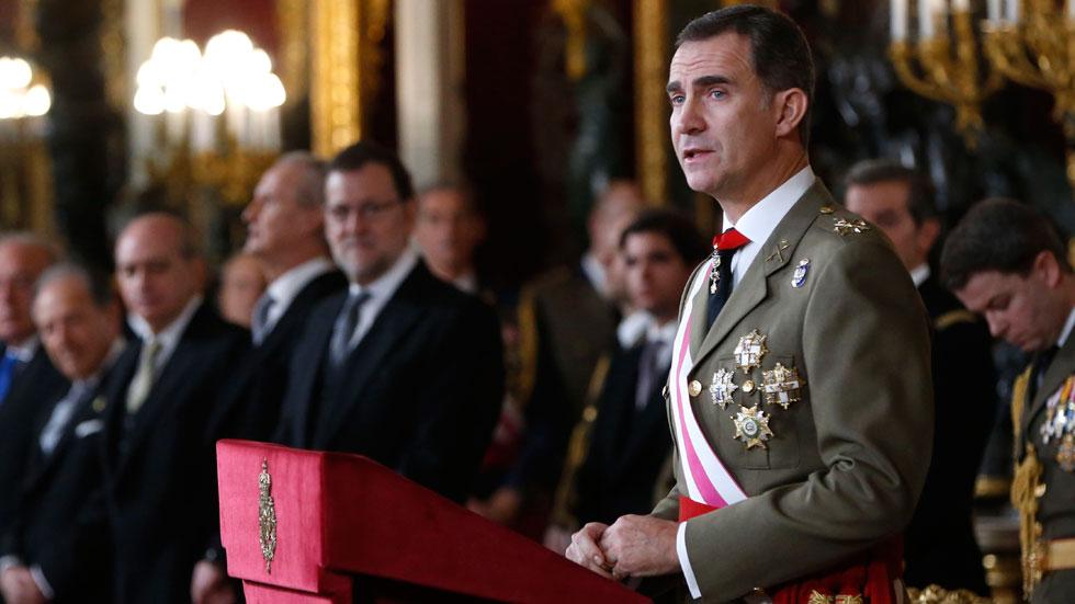 Discurso íntegro del rey en la Pascua Militar 2016
