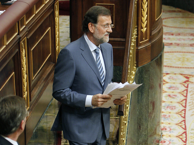 Discurso íntegro de Rajoy en el Debate del Estado de la Nación