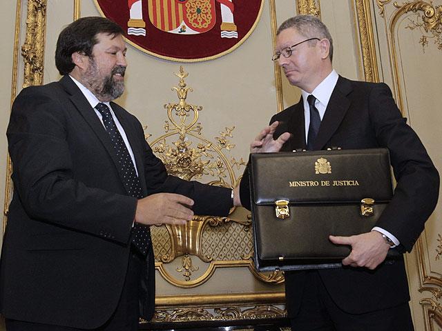 Discurso de posesión de Alberto Ruiz-Gallardón como ministro de Justicia