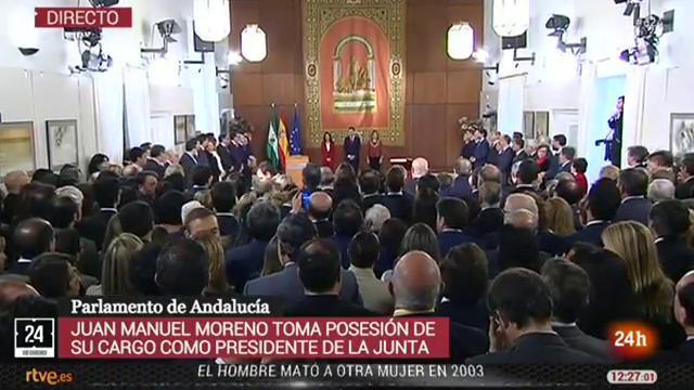 Discurso de toma de posesión de Juanma Moreno Bonilla