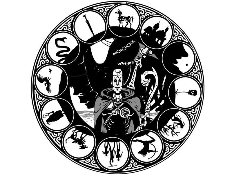 Diseño de Fernando Baldó para 'Desiertos de metal'