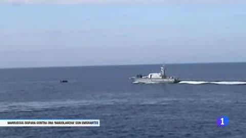 Una muerta y tres heridos por los disparos de la Marina marroquí a una patera