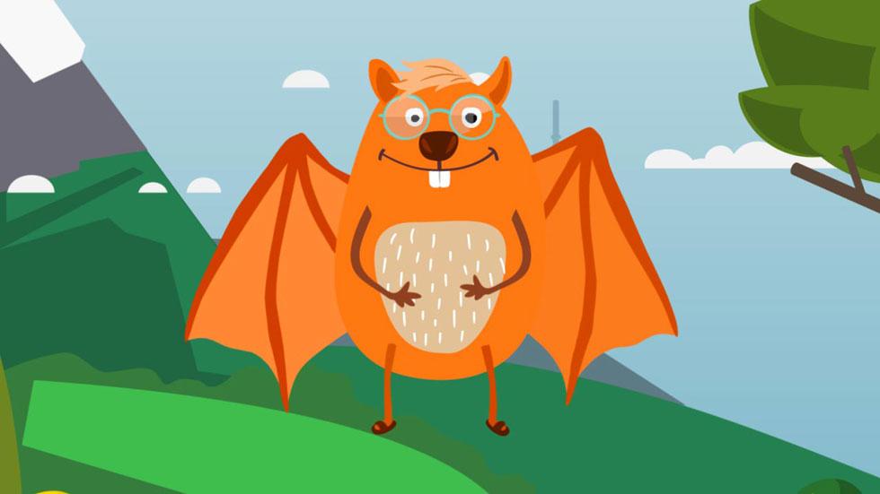 Cuento interactivo: Este es Otto, de padre Cástor y madre murciélago
