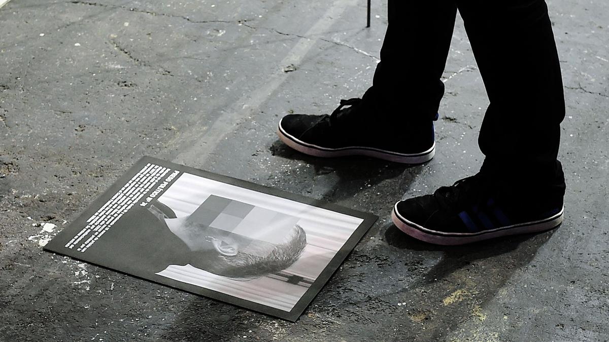 División de opiniones políticas por la exposición retirada de ARCO sobre presos políticos donde aparece Junqueras