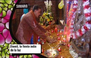 Babel en TVE - Caleidoscopìo: Diwali, la fiesta india de la luz